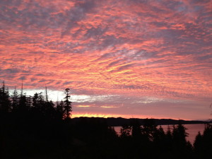 Sunset - Port Hardy, BC