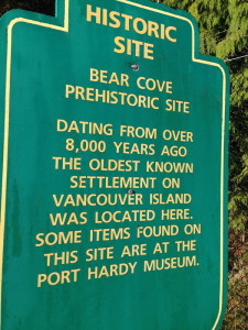 Historical site - Bearcove, Vancouver Island